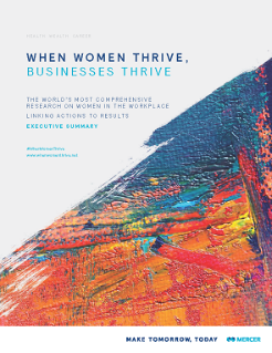 Samenvatting When Women Thrive