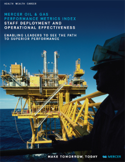 Mercer Oil & Gas Performance Metrics Index