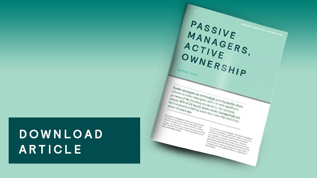 The Active Side of Passive Management